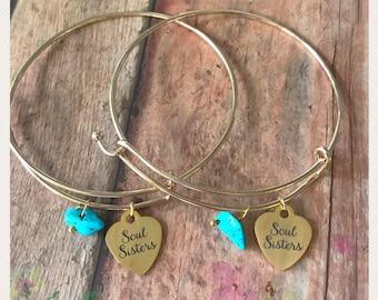Soul Sister Bracelets. Best Friend Bracelets.
