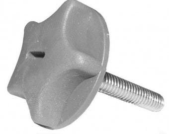 6 X New Headboard Bolts screws With fitted Plastic Washers for Divan bed bases(size-M8 X 45 MM)