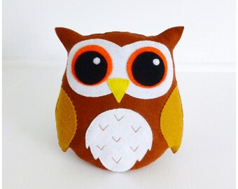 Hoot the Owl pdf Sewing Pattern