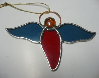Red Angel Christmas ornament