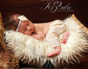 Newborn Photography Prop Fur Photo Prop Newborn Baby Photo  Prop Newborn Baby Picture Props Baby Props for Photos Baby Posing Props