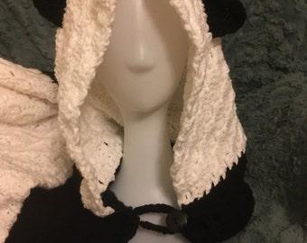 Hooded Panda Blanket