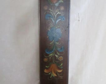 Wall Sconce Tole Painted Wood Candle holder