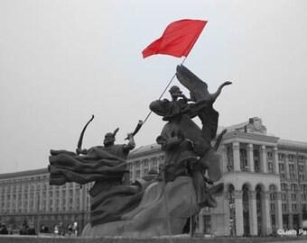 Orange Revolution - Original Signed Fine Art Photograph