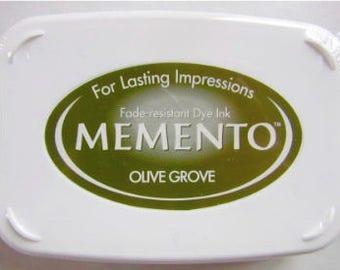Encreur MEMENTO - Vert olive