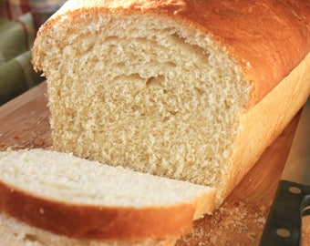 1 Large Loaf Homemade Bread