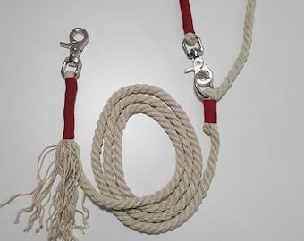 Hemp dog leash