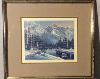 "Sharon J Achtyes "" Winter / Mt. Wilson"""