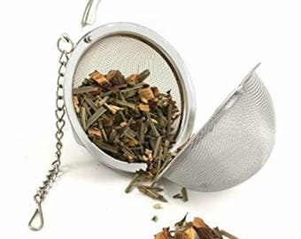 Tea Infusion Ball, loose leaf tea ball, stainless steel tea infuser, coffee infusion ball. Tea filter