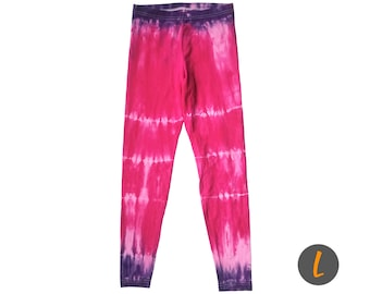 Dragonfruit Tie Dye Leggings
