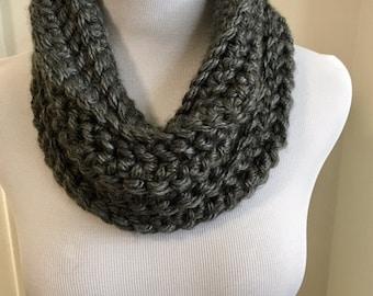 Crochet cowl, crochet scarf, infinity scarf, neck warmer, winter scarf, winter accessory, knit cowl, knit scarf, knit infinity scarf