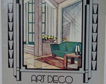 Vintage Art Deco Interiors In Color Book By Charles Rahn Fry