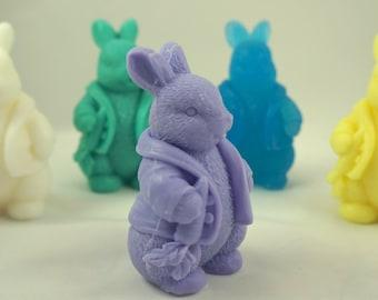 10 PETTER RABBIT SOAP Favors- 3D Bunny Soap Favors-  Baby Shower Favors