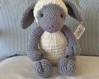 Lamb Handmade/Crocheted Stuffed Toy