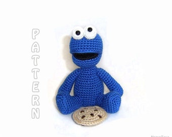 PDF - Cookie Monster Amigurumi Pattern