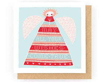 May all your wishes come true - Greeting Card (1-37C)