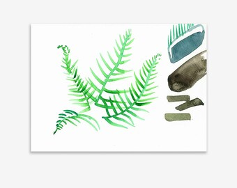 Unrecognisable Parts Of Our Garden 14, print on fine art paper