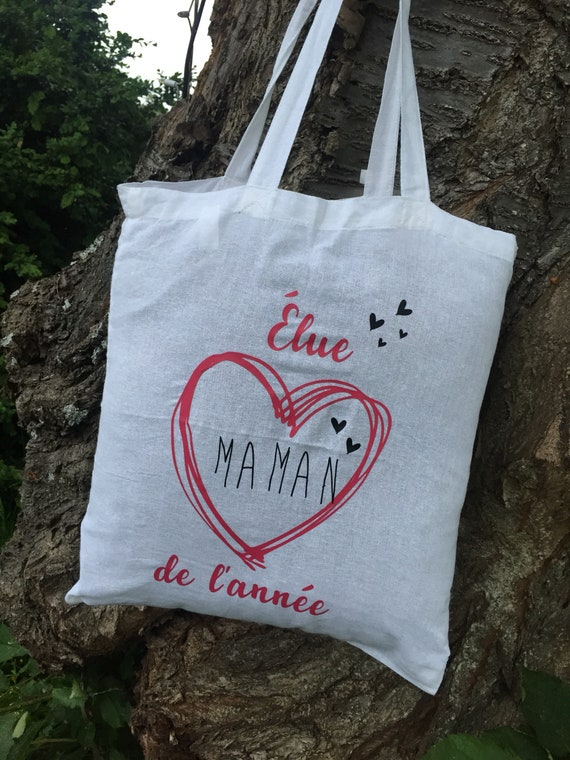 """Tote bag """"one mother of the year"""""""