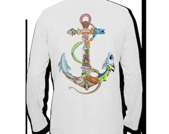 anchor of the sea