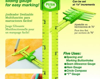 Clover 5 in 1 sliding gauge with Nancy Zieman