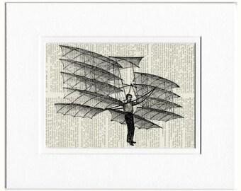 hang glider 18oo's print