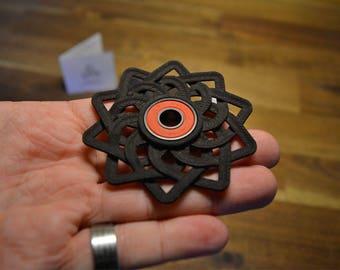 Celtic Lotus Fidget hand spinner - Black