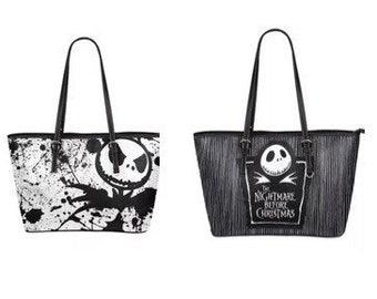 Custom Nightmare Before Christmas Handbag In 2x Styles