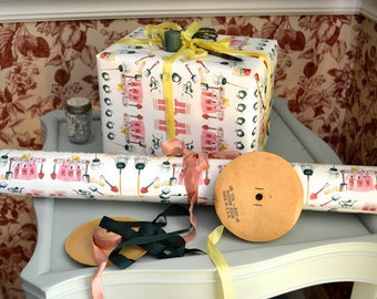 Gift Wrap 6 foot rolls of Gardner's Gift paper