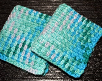 Crochet Cotton Washcloth 2 pack