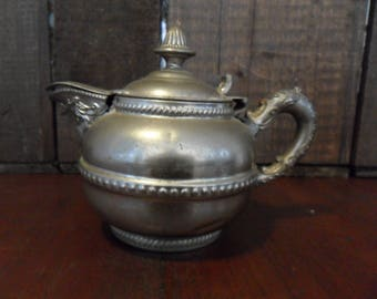 Vintage Victorian Creamer~Silver Plated
