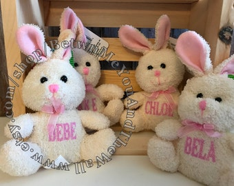 Personalized Stuffed Bunnies & other cuties