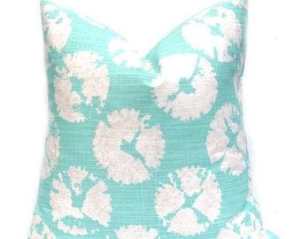 15% Off Sale Decorative pillow, Beach Pillow, Aqua Pillow, Green Pillow, Green Pillow Covers, Throw Pillow Covers, Accent Pillows, Toss Pill