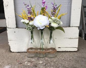 3-Vase Wildflower Arrangement