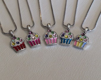 Birthday Girl Necklace, Kids Jewelry, Kids Party Favors, Stocking Stuffers, Christmas Gifts, Little Girl Jewelry