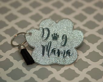 Dog Mama keychain