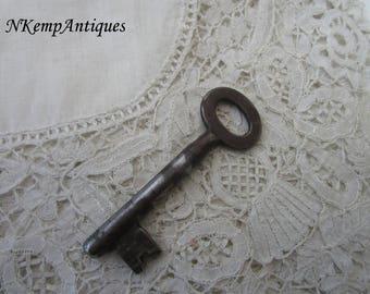 Old metal key