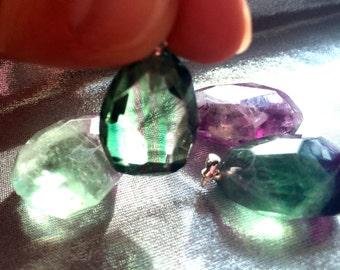 Fluorite Pendant, Beautiful Fluorite Necklace, Sacred Jewelry!