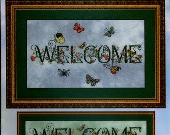 Cross My Heart: Butterfly Welcome (OOP) - Cross Stitch Pattern