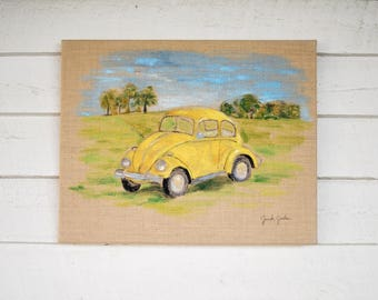 Bug Car painting - 'Enjoy the Ride'