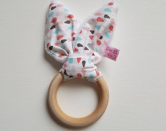 Different wood, special teething and awakening of Baby Rattles