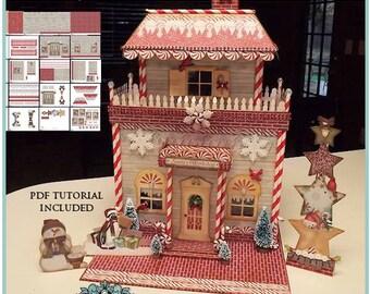 North Pole Santas Workshop 3D Printable Project