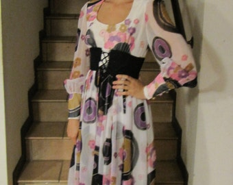 70 's psychedelic dress