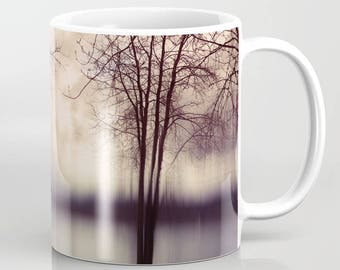 Coffee Mug - Nature Photo - Trees and Water Photograph - 11 oz Mug - 15 oz Mug - Made to Order