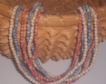 Vintage Marble Bead Chains