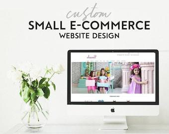 Custom Website Design - Small E-Commerce - Custom Responsive Wordpress Website Design - E-Commerce Website Design