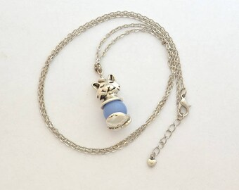 Cat Bead Necklace