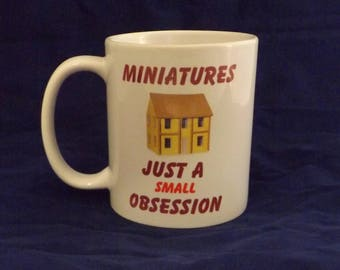Ceramic Mug - Small Obsession