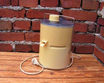 Retro Electric Juicer Automatic Juice Extractor Fruit Juicer Vintage Kitchen