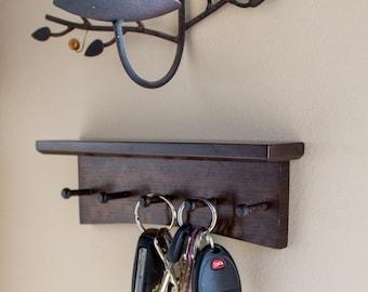Key Rack  - Quartersawn White Oak Arts and Crafts / Mission Style