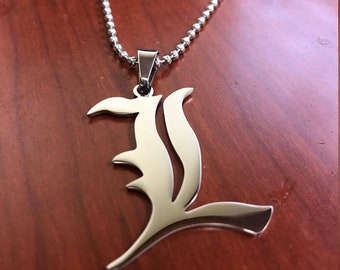 Custom Death Note L Necklace